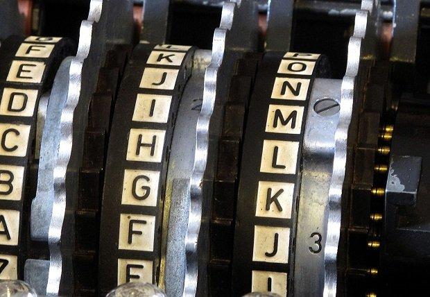 Los rotores de la máquina Enigma