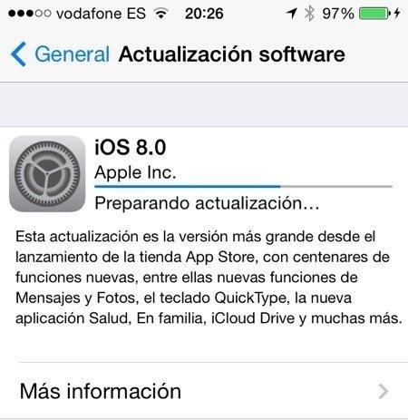 Los servidores de Apple se saturan: problemas para descargar iOS 8 - imagen 2