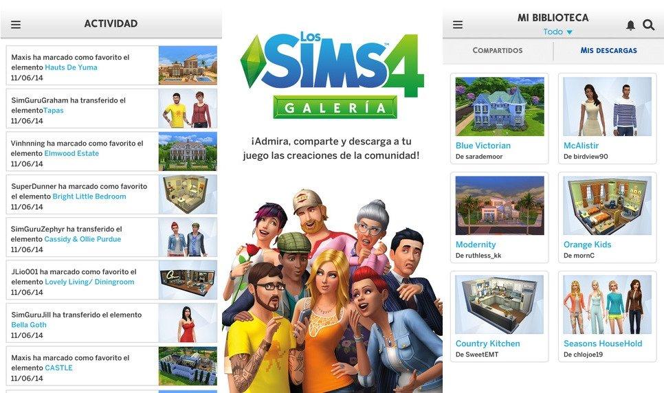 Los Sims 4 Galeria, la app para compartir creaciones en los Sims - imagen 2