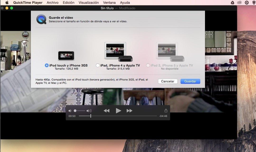 Los vídeos de tu Mac en el iPad