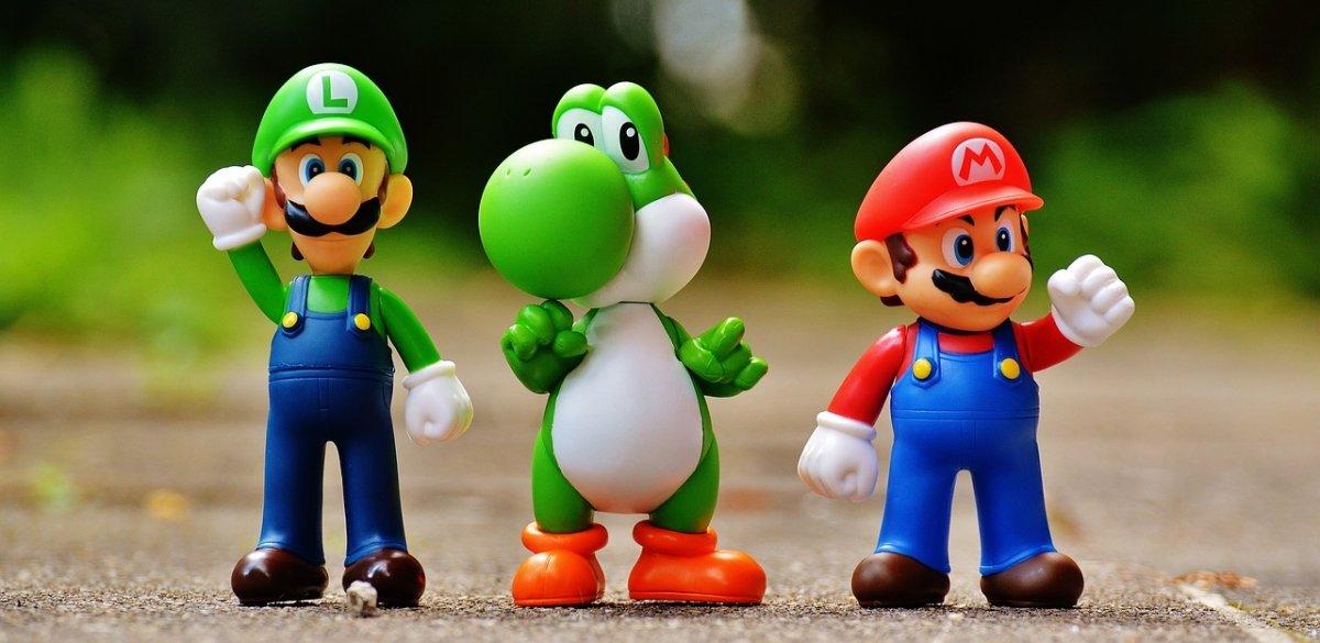 Luigi, Yoshi y Mario, protagonistas de Super Mario World