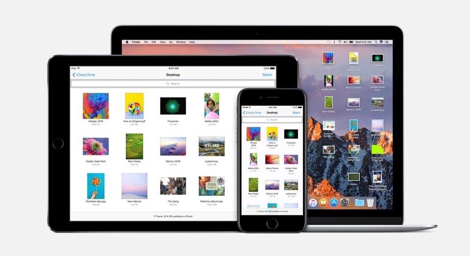 MacOS Sierra iCloud