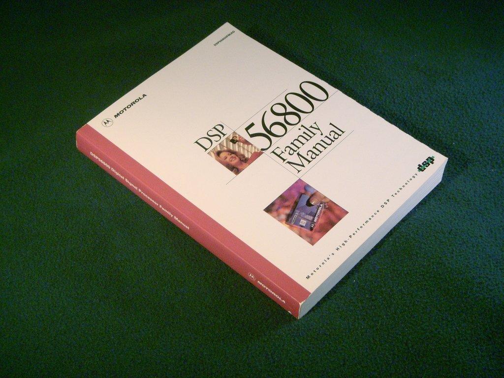 Manual de los procesadores Motorla DSP 56800