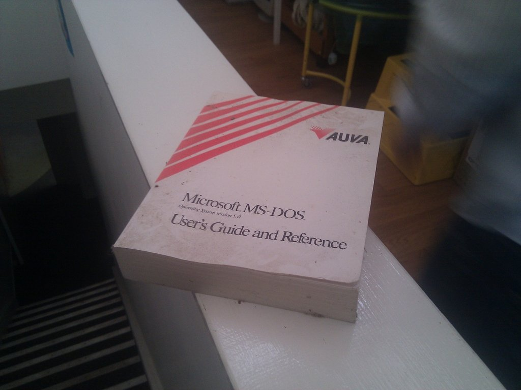 Manual de MS-DOS