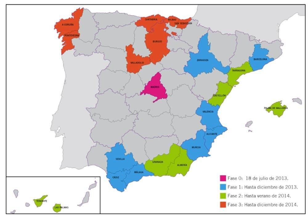 Mapa De Cobertura Yoigo.Yoigo Lanzara En Verano La Primera Red Movil 4g De Espana