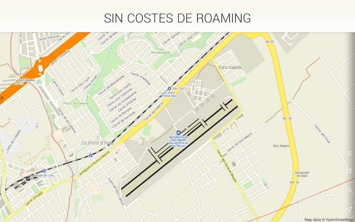 MAPS.ME permite consultar mapas sin conexión ni costes de roaming