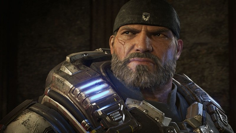 Marcus de Gears of War 4