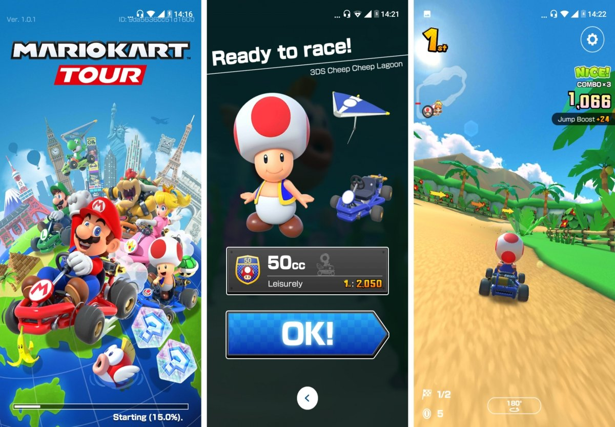 Mario Kart ya está disponible en Android