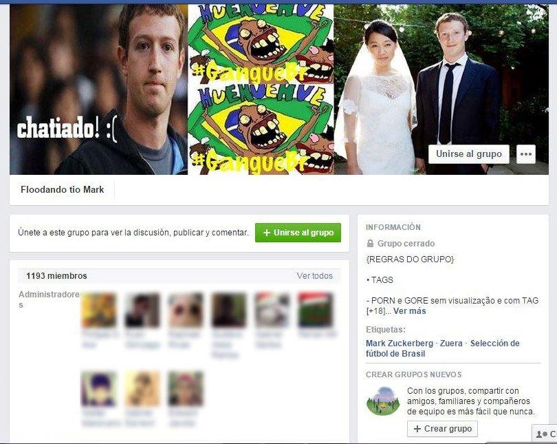 Mark Zuckerberg víctima de un ataque troll masivo - imagen 3