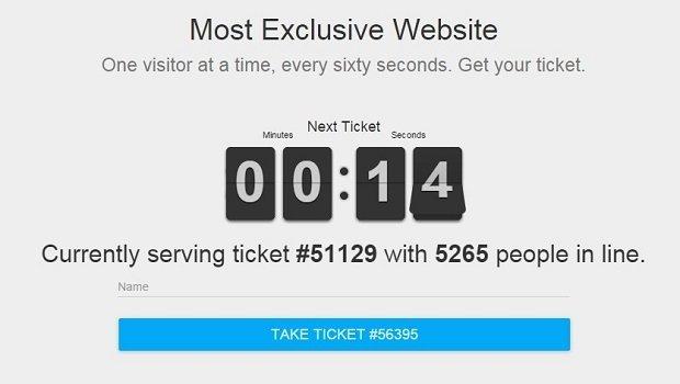 Más de 5.000 personas en cola en el momento en el que hemos accedido a la web