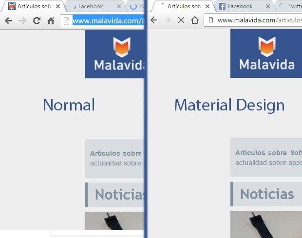 Material Design en Chrome, el futuro de su diseño