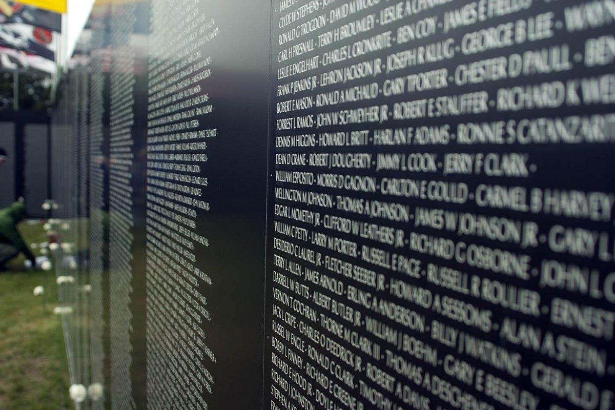 Memorial a los soldados caídos en la Guerra de Vietnam