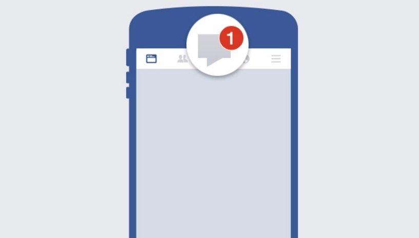 Mensajes privados desde páginas de Facebook