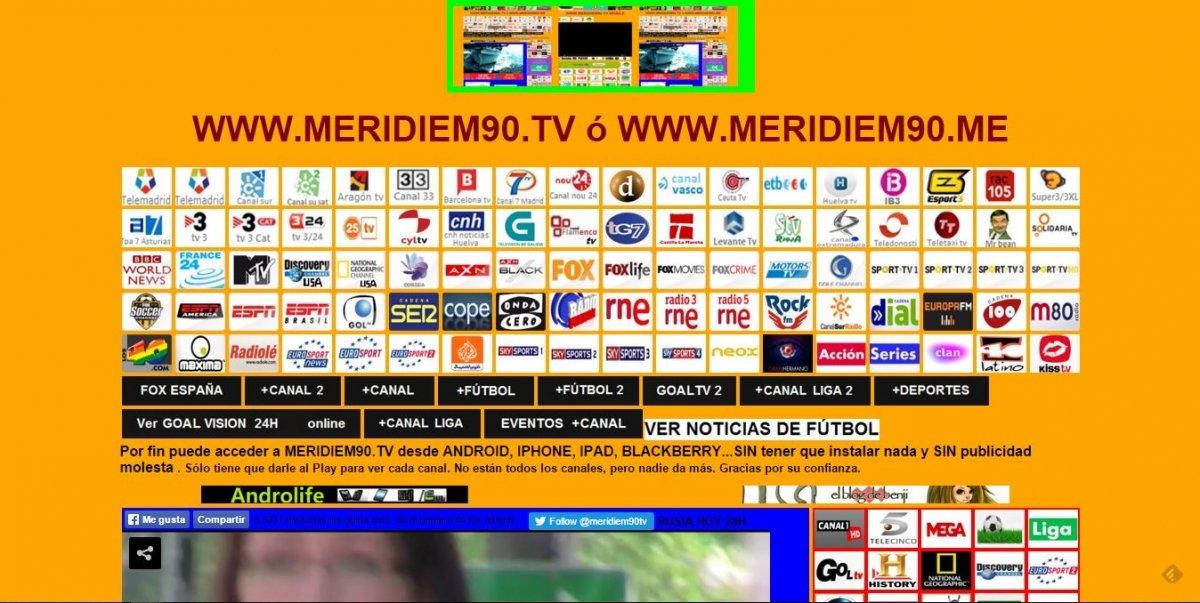 Meridiem90.tv, mucho más que fútbol