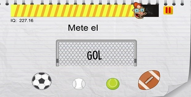 Mete un gol, literalmente