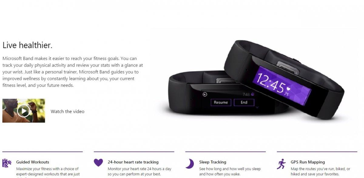 Microsoft entra en el mercado de los wereables con Microsoft Band - imagen 2