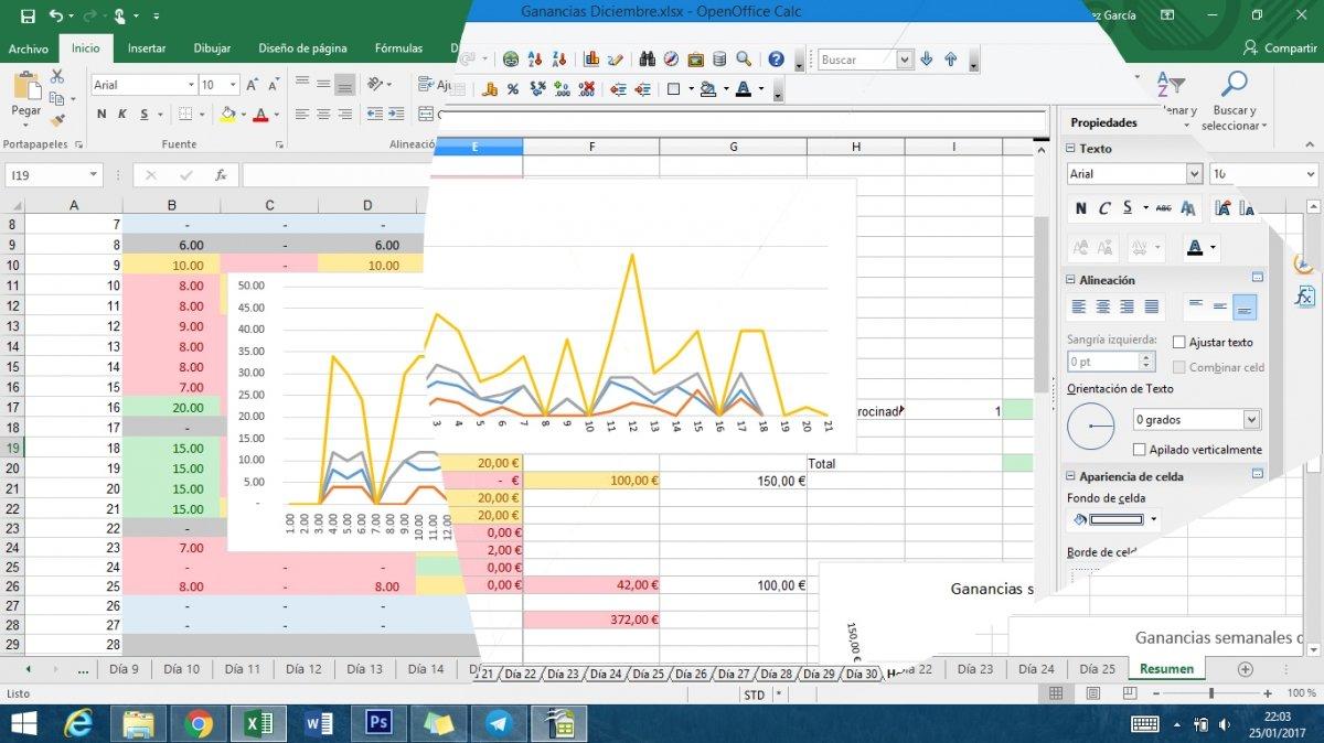 Microsoft Excel versus OpenOffice Calc