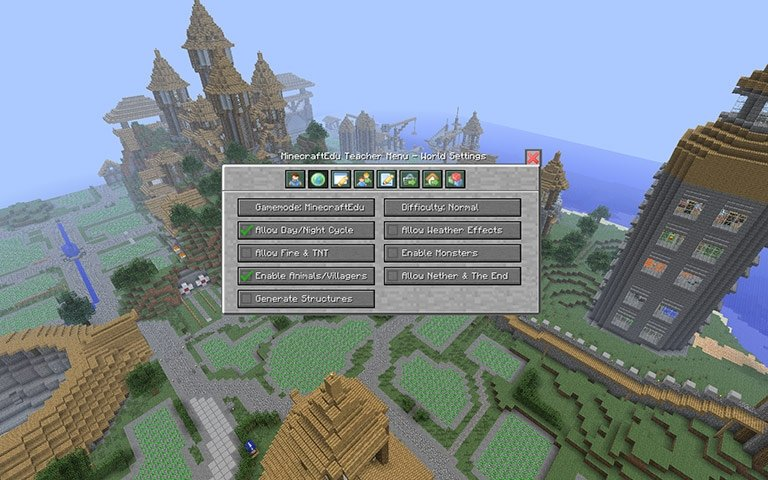 Joel Levin y Santeri Koivisto crearon MinecraftEDU