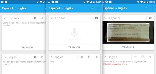 Mitzuli: traductor inglés-español offline