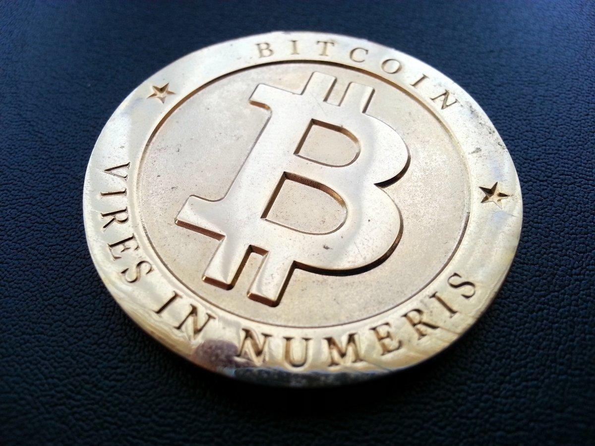 Modelo físico de un bitcoin