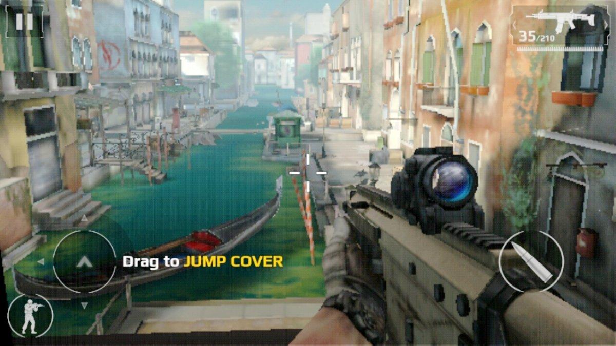 Modern Combat 5 es un juego imprescindible en Android