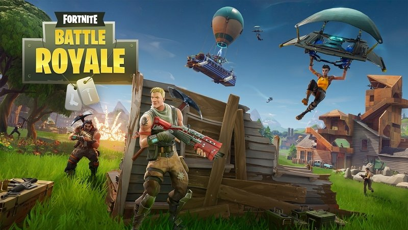 Modo Battle Royale de Fortnite