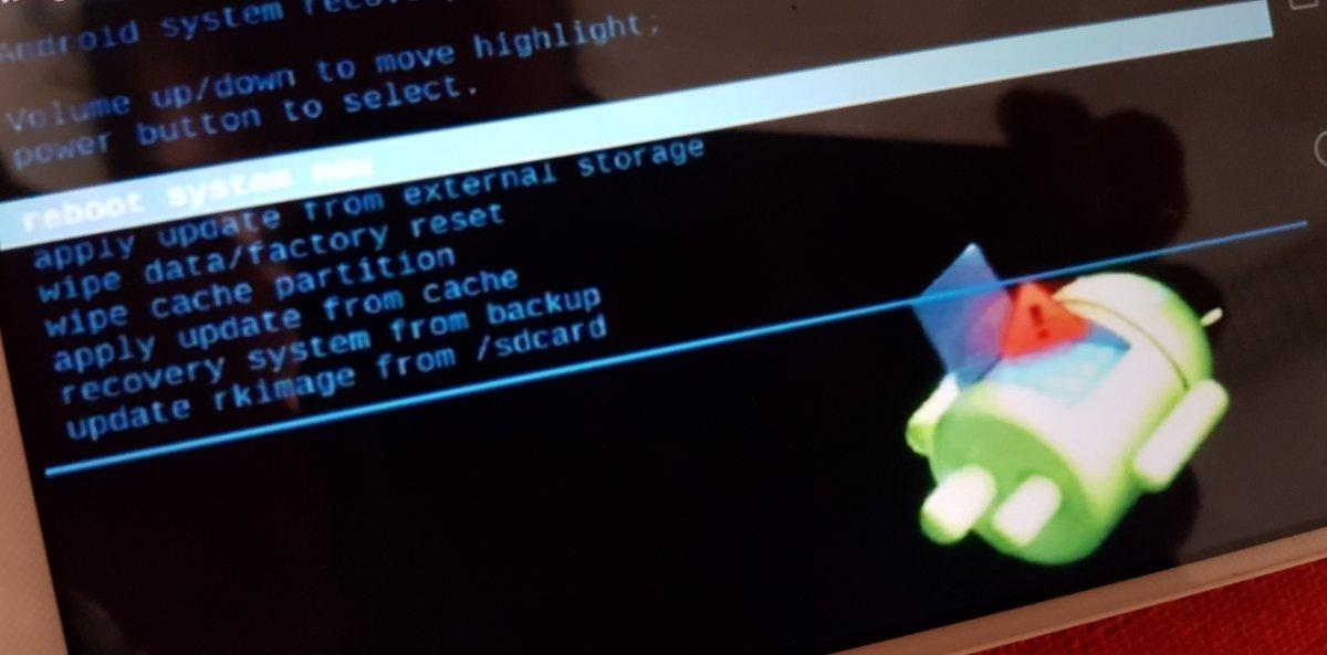 Modo recovery de Android