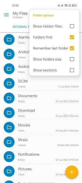 Mostrar archivos ocultos