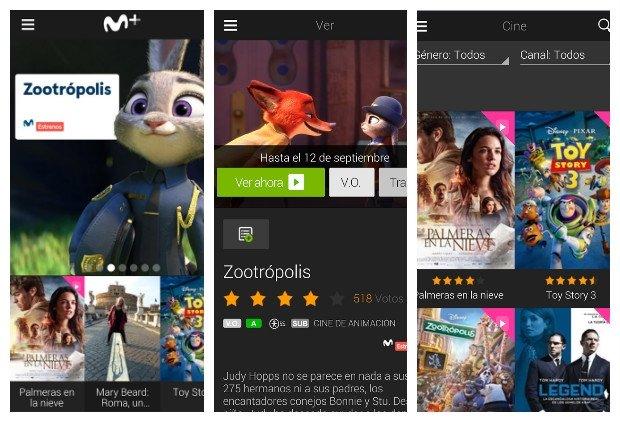 Movistar+ app