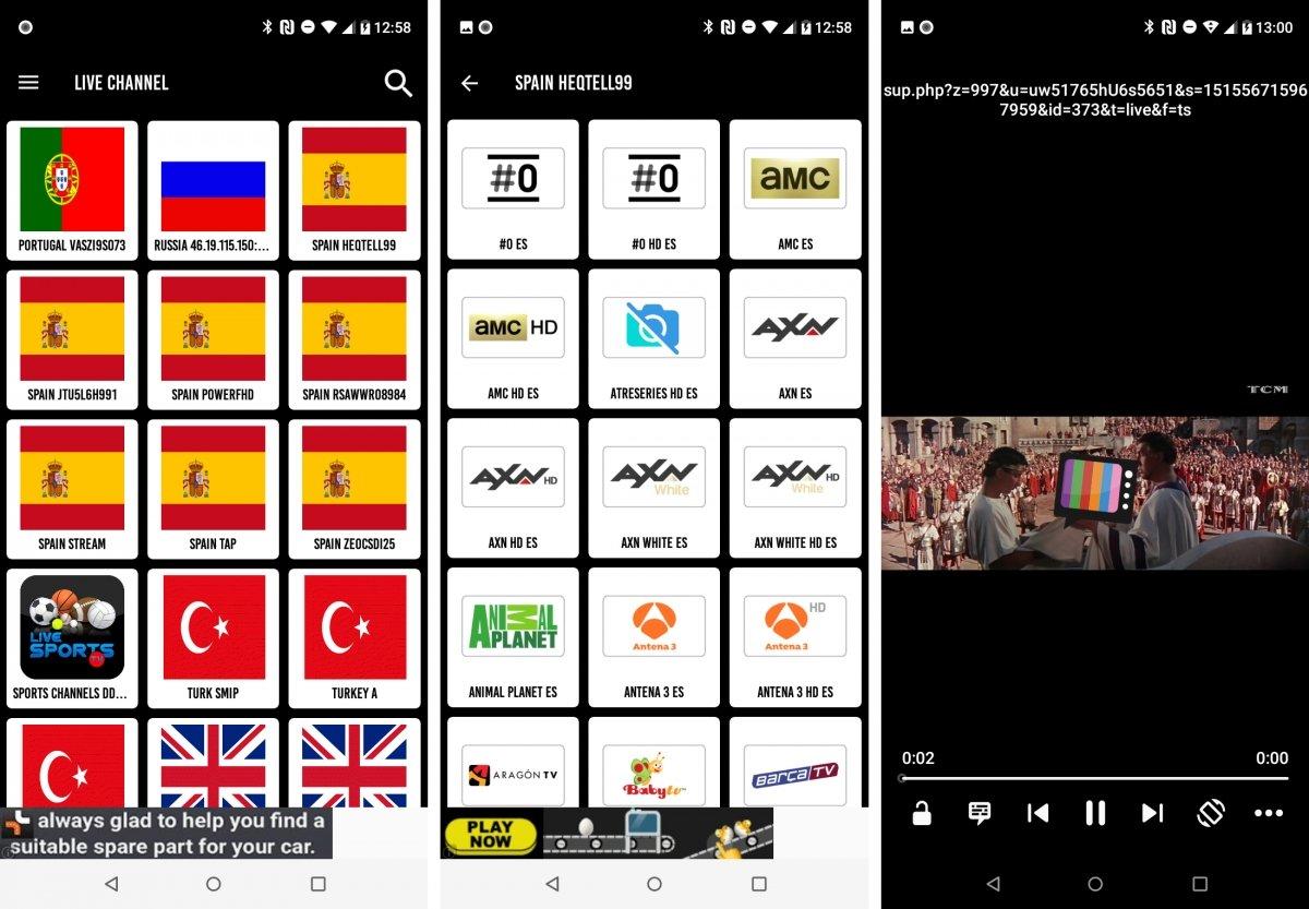 Mr Zip TV ofrece listas IPTV de canales españoles y de otros países