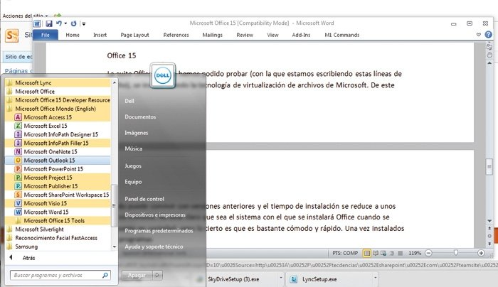MS Office 15 detalle 2