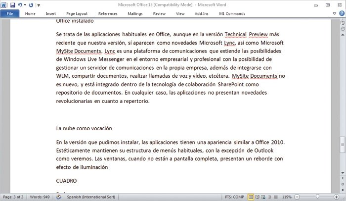 MS Office 15 detalle 3