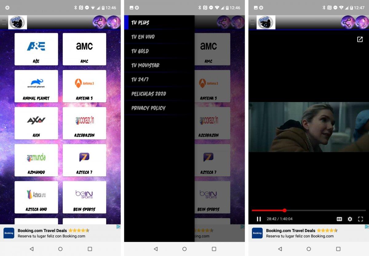 Neko TV es fea, pero tiene muchos canales en español y funciona