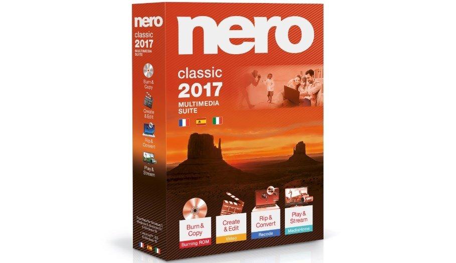 Nero 2017 Classic es la versión 'básica'