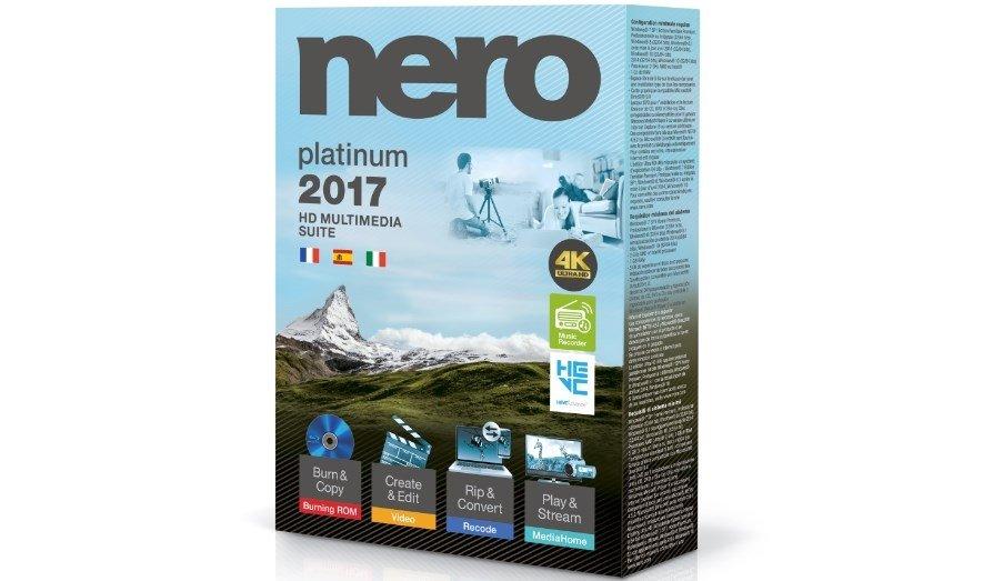 Nero 2017 Platinum ofrece un extra respecto a Classic