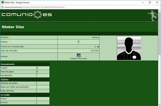 Néstor Díaz del Celta es el perfecto ejemplo de jugador de 160.000 euros