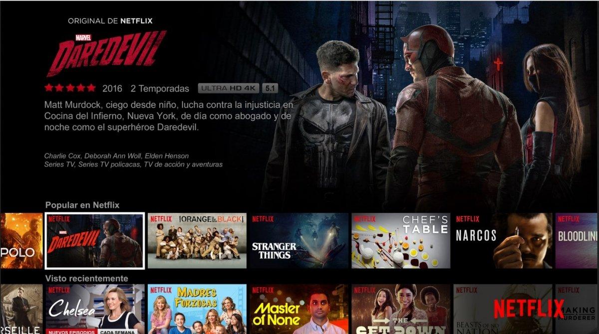 Netflix es una alternativa legal a Pordede muy interesante y con un coste asumible