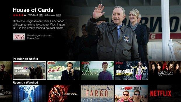 Netflix no aterrizará en España con House of Cards