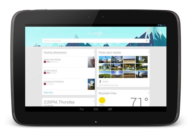 Nexus 10 tableta