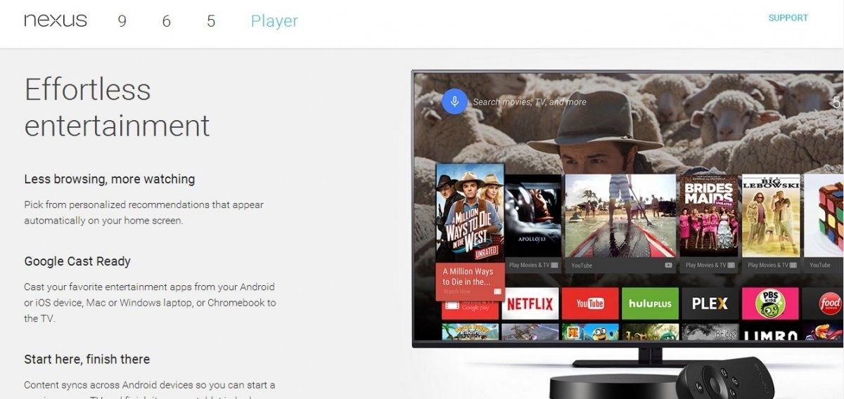 Nexus Player, la consola y reproductor de Google - imagen 2
