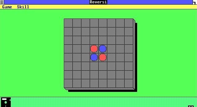 Ni Buscaminas ni Solitario, el Reversi entretenía a los usuarios de Windows 1.0