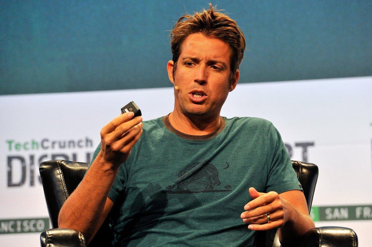 Nick Woodman, en la presentación de una cámara GoPro