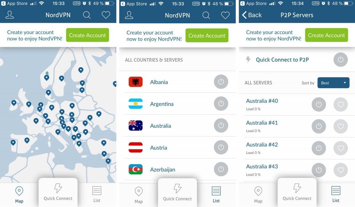 NordVPN ofrece privacidad y acceso a Netflix o P2P