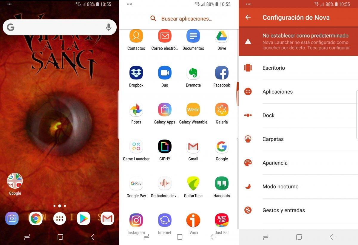 Nova Launcher te ayudará a acelerar Android