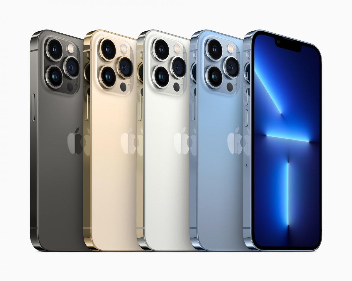Nuevos teléfonos iPhone 13 Pro