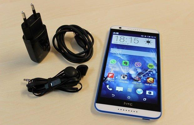 Nunca te dejes en casa el cargador del HTC Desire 820