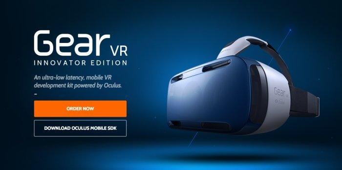 Captura de pantalla del caso de realidad virtual de oculus