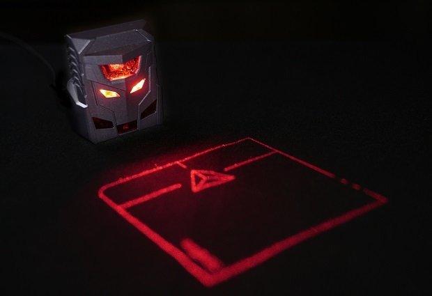 ODiN Aurora proyecta un touchpad virtual de 8 x 8 cm