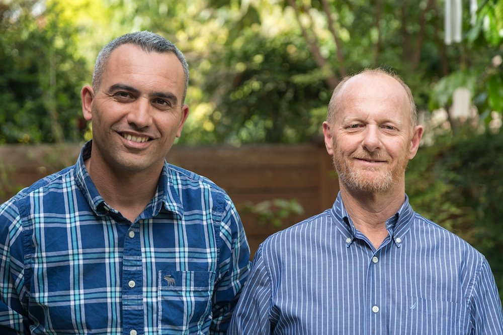 Ofer Lugasi y Zvi Rozenfeld son los fundadores de AllBe1