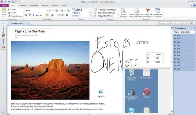 Office2010_CuadroOneNote